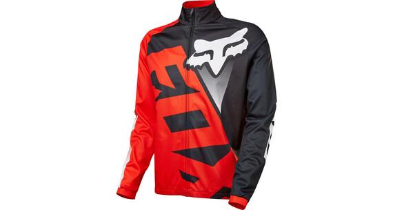 Fox Livewire Shield LS Jersey Men red/black